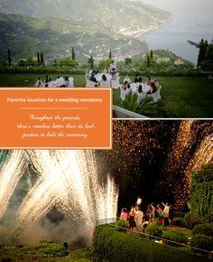 Wonderful weddings on the Amalfi Coast at Belmond Hotel Caruso.