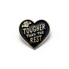 Tough Heart Enamel P
