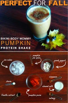 Introducing the Official Bikini Body Mommy Smoothie for Fall: The Pumpkin Protein Shake