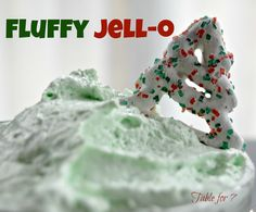table for seven: Fluffy Jell-O