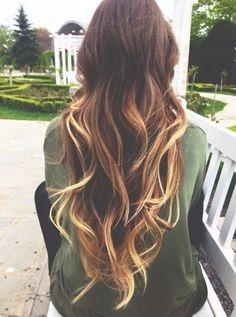 hair styles for long hair curls