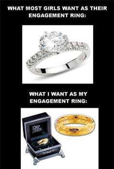 Girls Engagement ring Expecations vs. Reality - http://www.jokideo.com/