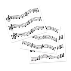 edible music notes can go on top of cupcakes, cookies, etc...