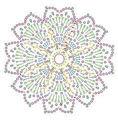 Granny Hexagon Squares