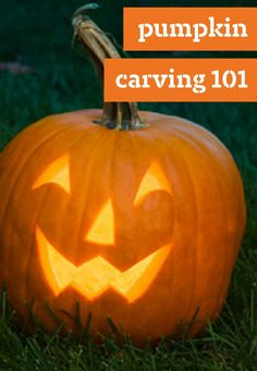 Pumpkin Carving 101 -- Carve up something fierce with these pumpkin stencils and pumpkin carving patterns. Decorate your front porch with a scary Jack-o'-lantern or cute carved pumpkin with these printable pumpkin carving patterns and designs.