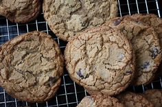 The healthy oatmeal cookies are pretty good!