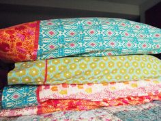 flannel pillowcases! by ImAGingerMonkey, via Flickr