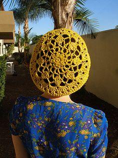 Loose Beret Crochet Pattern | Learn to Crochet