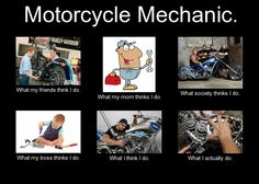 Your Mechanic Promo Code >> Bike Memes on Pinterest   Motorcycles, Area 51 and Comic Art