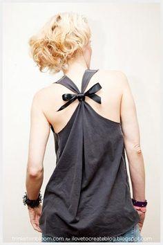 DIY Rocker T-Shirt : DIY Fashion by Trinkets in Bloom