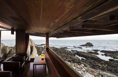 BOA NOVA TEA HOUSE by NGPhoto #Architects > beautiful outdoor seating area with views!