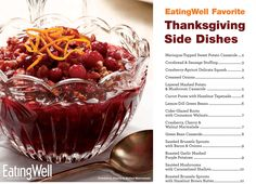 holiday, side dishes, cookbook, cherri walnut, healthi food, thanksgiving recipes, side dish recipes, healthi thanksgiv, thanksgiving sides