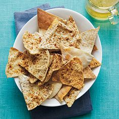 Baked Pita Chips | CookingLight.com