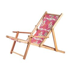 Beach Chair Pink Voyage Skipper, $49, now featured on Fab.