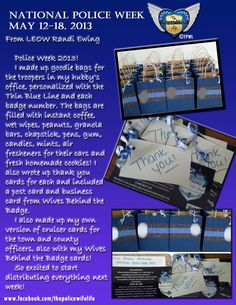 see ideas for the goodie bags