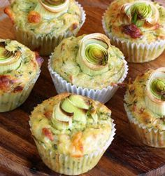 Cheese and Zucchini Muffins