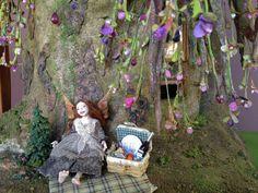 Fairy house dollhouse tree house by fairyfurnishings on Etsy, $1200.00