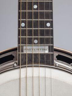 Circa 1926 Gibson GB-3 Mastertone guitar banjo.