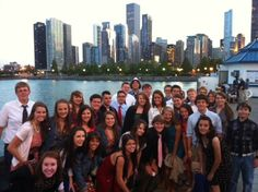 A Beautiful night in Chicago! Deep dish pizza and fireworks over the lake! The choir heads to St. Louis Thursday!