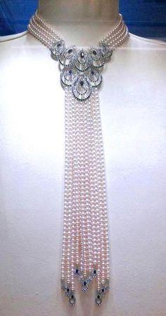 Beautiful Mikimoto pearls