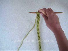 Sznuerk na drutach bez użycia laleczki dziewiarskiej