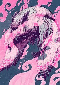 blade runner, illustrations, up north, max temescu, pink, business design, owls, line art, blues