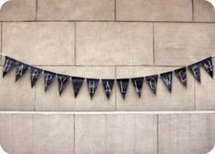 Another chalkboard bunting idea