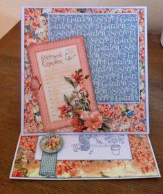 My Creative Spirit: Secret Garden Easel Card