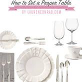 Ladylike Laws: How to Set a Proper Table