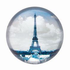 Eiffel Tower paper weight.