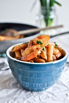 Spicy Parmesan Shrimp Skillet.