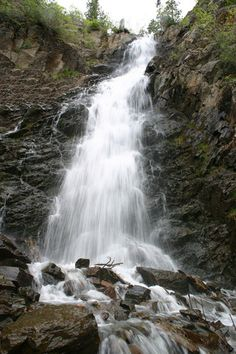 """The Falls"" - Casper Wyoming."