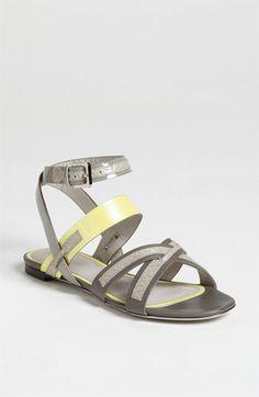 wu flat, color combos, flat sandals