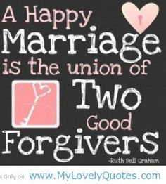 Two Good Forgivers (and forgeters. Love keeps no record of wrong) - My Lovely Quotes