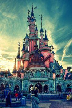 buckets, dreams, park, castles, earth, belle, disneyland paris, place, bucket lists