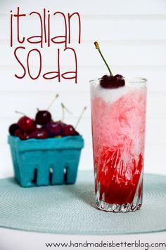 Italian Soda on MyRecipeMagic.com