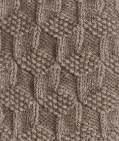 Great knitting stitch pattern.