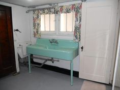 Image detail for -finished with a large laundry room the original 1930 s kitchen sink is ...