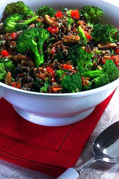Blissfully Vegan: Wild Rice Salad | Sides & Salads Recipes | Pinterest