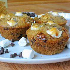S'more Muffins | Alida's Kitchen
