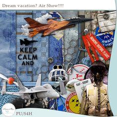 free scrapbook, free dream, paper pack, dream vacations, printabl paper, design tool, scrap kit, free printabl, freebi kit