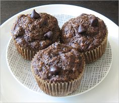 Chocolate Muffins (healthy)