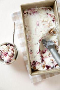 Cherry Crisp Ice Cream