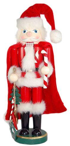 """14"""" Santa Christmas Nutcracker"""
