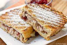 Turkey Monte Cristo Panini - great way to leftovers!