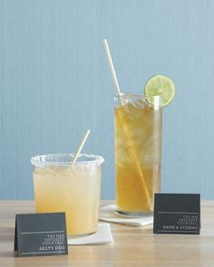 His-and-Her Drinks ::: Instead of only one signature cocktail, offer two: your fave, and his.