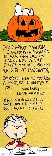 Great Pumpkin Charlie Brown Halloween Quotes