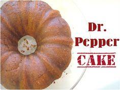 Dr. Pepper Cake!