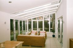 Extension to modern dwelling to form conservatory with adjacent study/office.