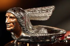 Weathered Pontiac Hood Ornament